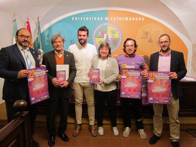 Presentación de la XXII Gimnastrada de Cáceres