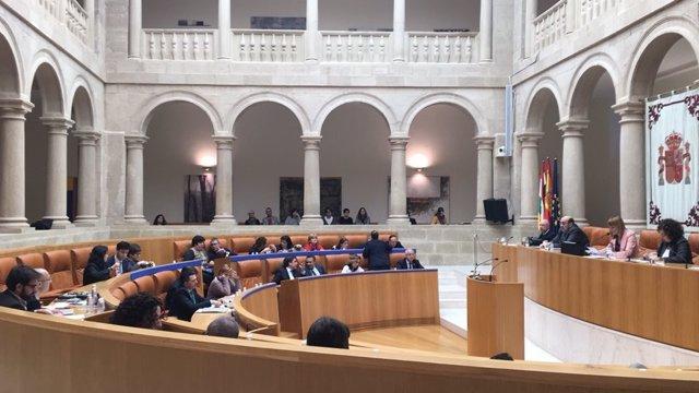 El pleno debate un acuerdo en materia de infraestructuras