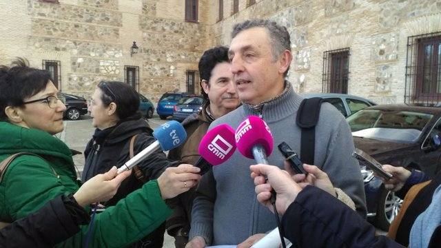 Miguel Ángel Hernández, portavoz de la Plataforma Contra la Ley de Caza