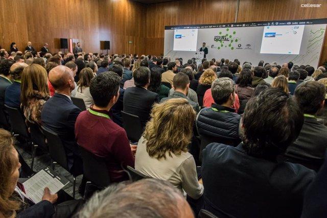 Celebración de la primera 'Andalucía Digital Week' em Fibes