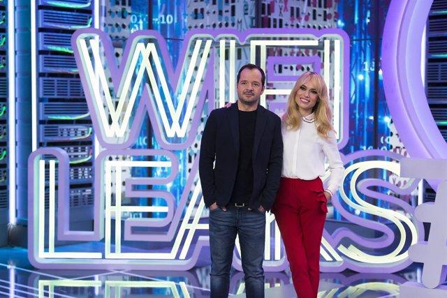 Presentación WIFI LEAKS con Patricia Conde y Ángel Martín  Enrique Cidoncha