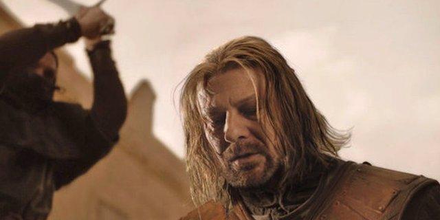 Muerte de Ned Stark en Juego de Tronos