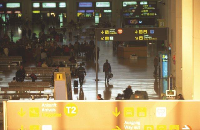 Aeropuerto de Málaga, interior