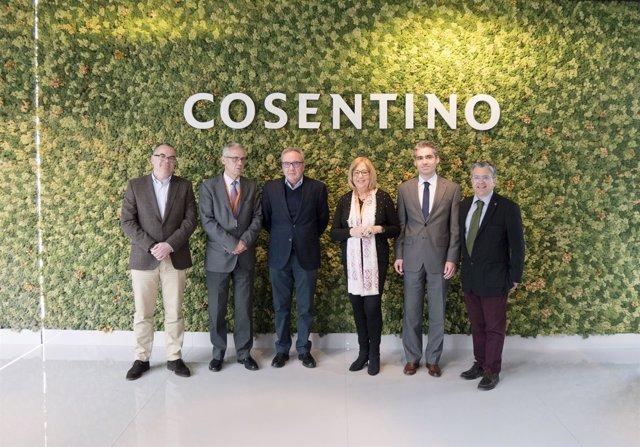 Encuentro entre Cosentino y Corporación Tecnológica de Andalucía