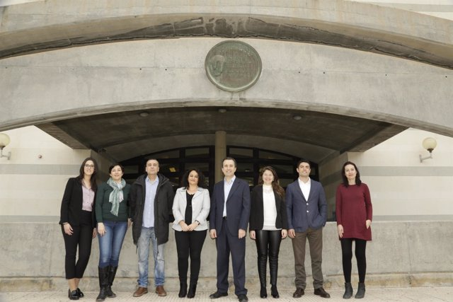 Parte del equipo de trabajo de la UA que participa en el NTG