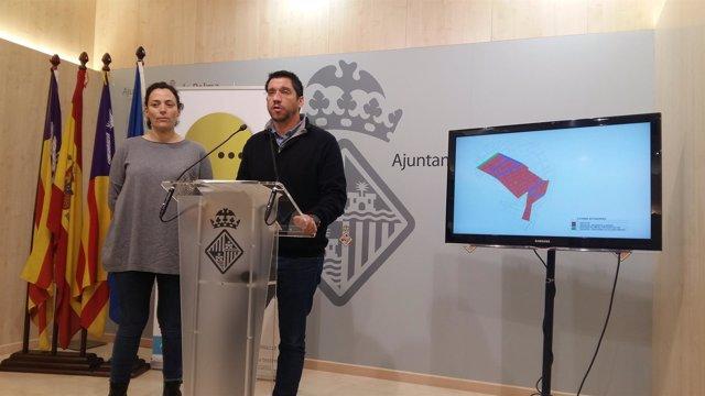 Regidor de Infraestructuras, Rodrigo A. Romero