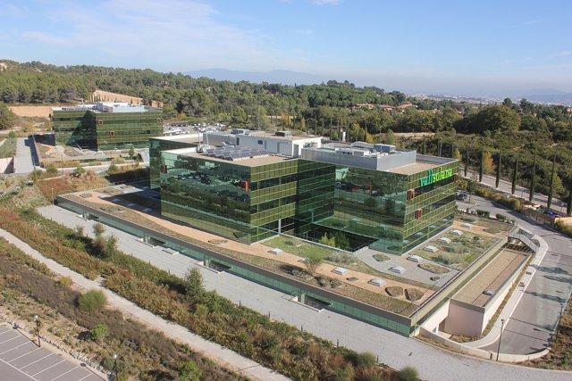 El edificio Vallsolana Business Park de Sant Cugat