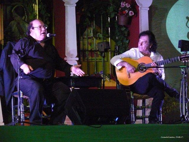 Marcelo Sousa, cantaor.