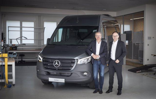 Nueva Sprinter de Mercdes-Benz Vans para caravanas