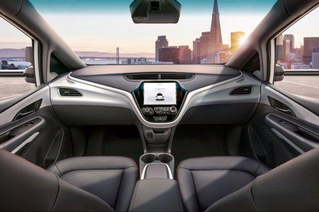 Vehículo sin volante de General Motors