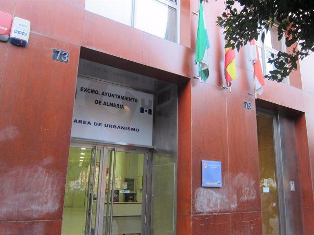 Área de Urbanismo del Ayuntamiento de Almería