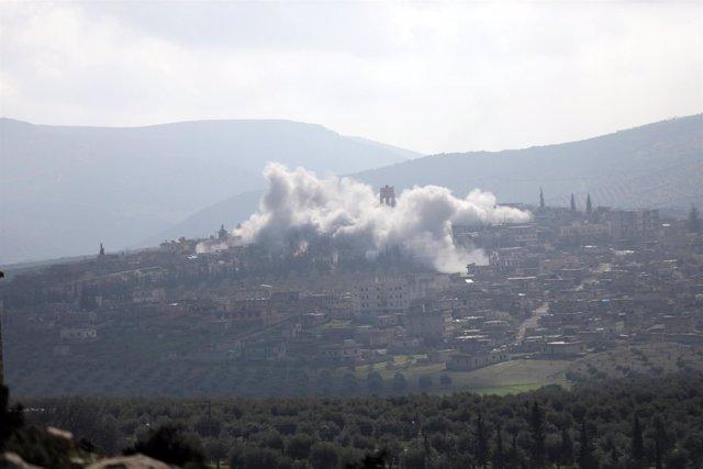 Combates en Afrin