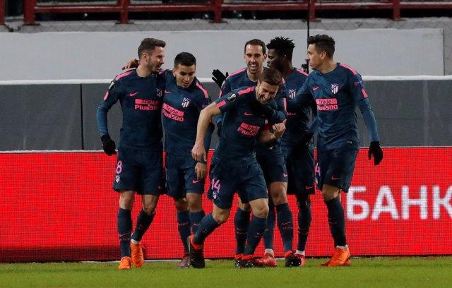 Lokomotiv Moscú - Atlético de Madrid