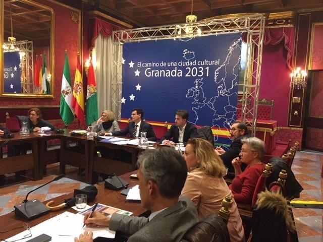 Nota La Comisión Municipal Para La Capitalidad Europea De La Cultura 2031 Aborda