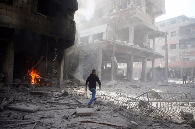 Bombardeo sobre Ghuta Oriental