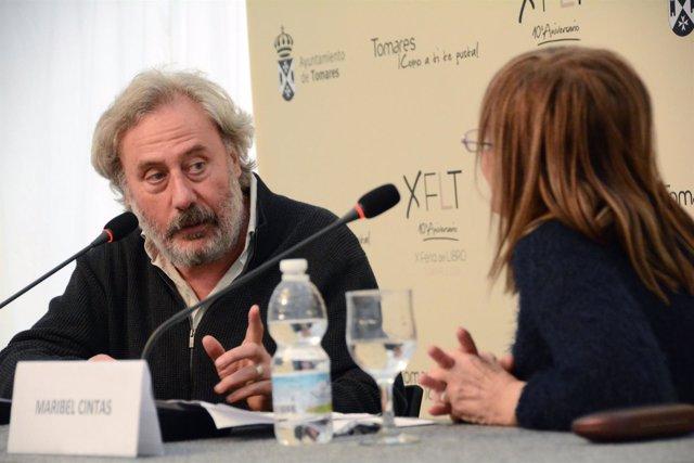 Julio Llamazares en Tomares