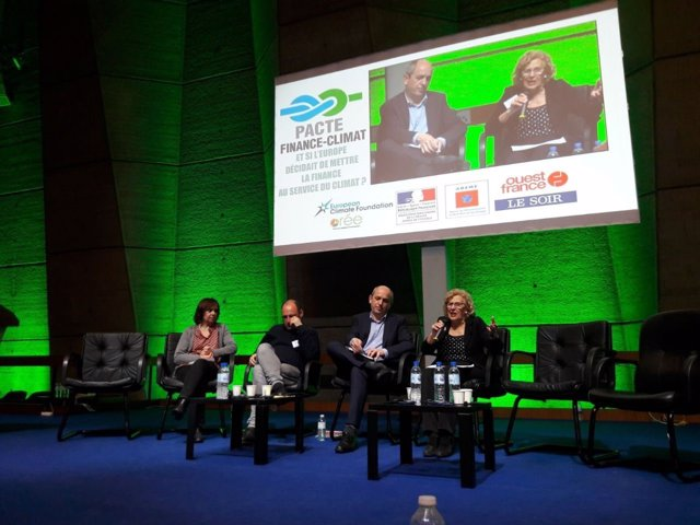 Carmena en el congreso de la UNESCO en París