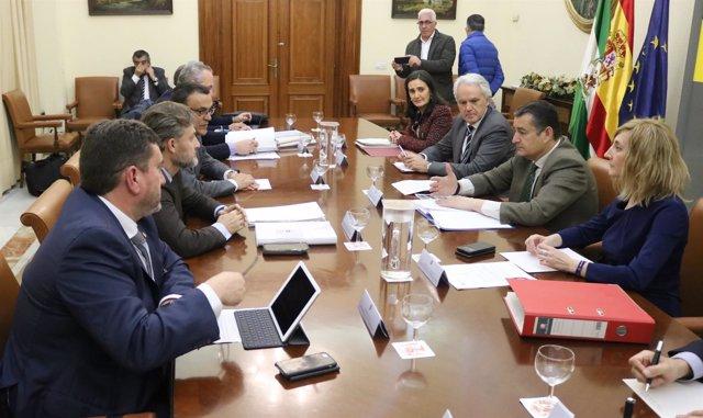 Reunión de la Comisión Interadministrativa por el temporal