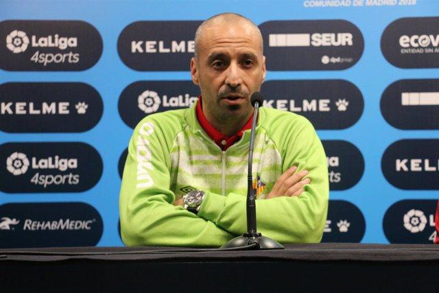 El entrenador de Palma Futsal, Antonio Vadillo