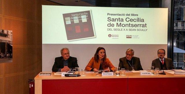 Presentación del libro 'Santa Cecília de Montserrat. Del segle X a Sean Scully'