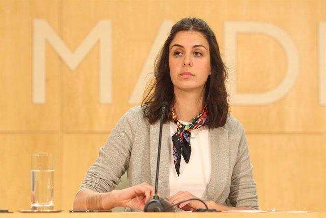 Rita Maestre, portavoz del Ayuntamiento de Madrid