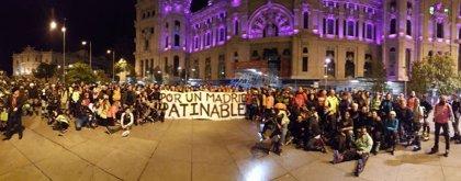 Patinadores se manifiestan hoy en Cibeles para pedir que se autorice la 'Madrid Friday Night Skate'