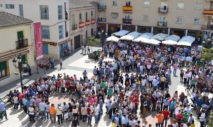 La subasta del juego de 'las caras' de Semana Santa de Calzada de Calatrava se celebra este viernes en el Ayuntamiento