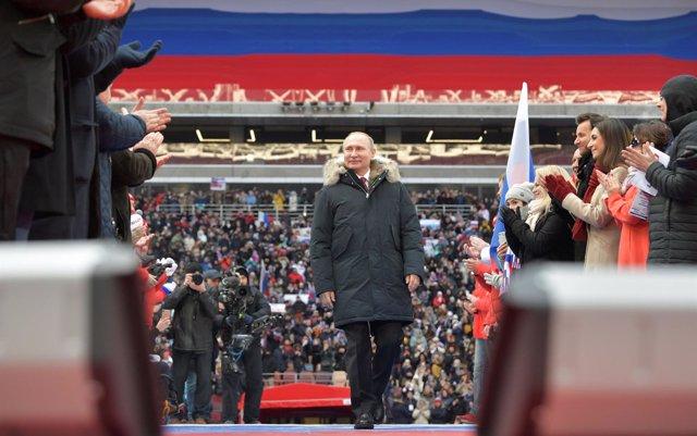 Interrogantes ante la nueva victoria de Putin en Rusia