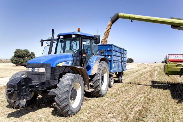 Tractor agricultura