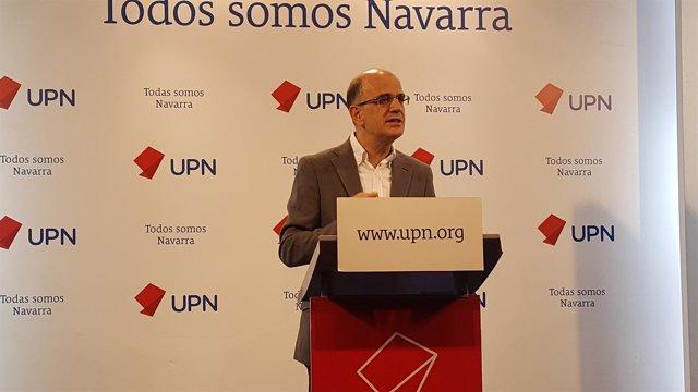 Alberto Catalán, parlamentario de UPN.