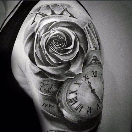 Técnicas occidentales y orientales para tatuar