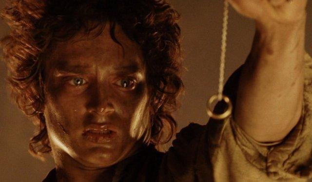 Elijah Wood en El Señor de los Anillos