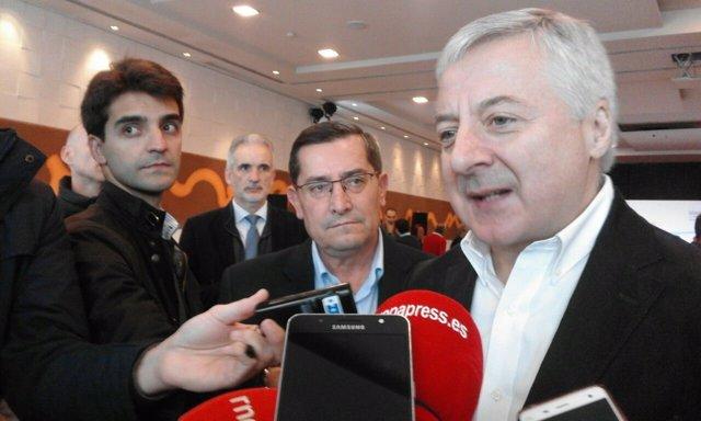 El exministro de Fomento y eurodiputado José Blanco