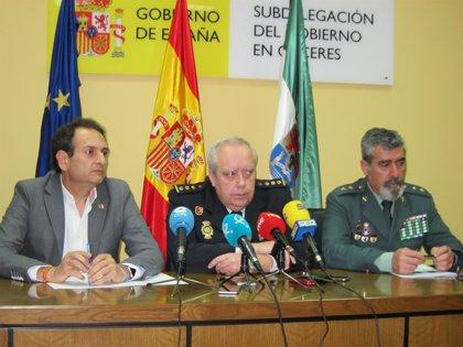 Continúa la investigación sobre la desaparición de la pistola del jefe de la Policía Local de Cáceres