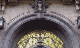 Fachada del Ministerio de Educación