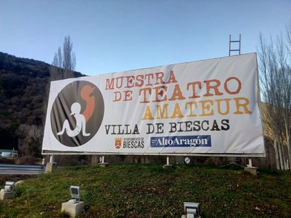 """La Muestra de Teatro Amateur """"Villa de Biescas"""" logra el sello de calidad 'Escenamateur'"""