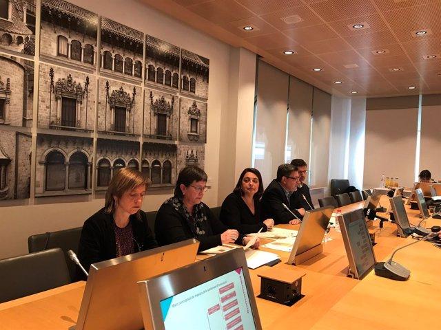Sònia Recasens presenta el estudio sobre innovación en la provincia de Barcelona