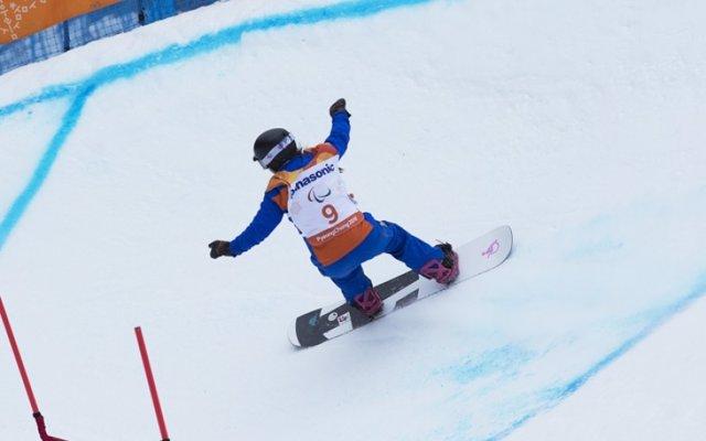 Astrid Fina y Víctor González finalizan sexta y duodécimo en el 'banked slalom' de PyeongChang 2018