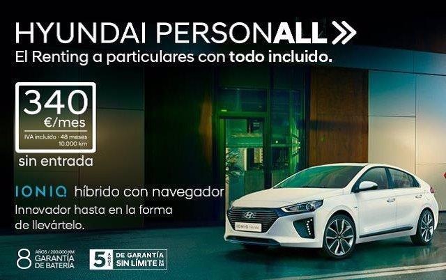 Servicio de renting de Hyundai