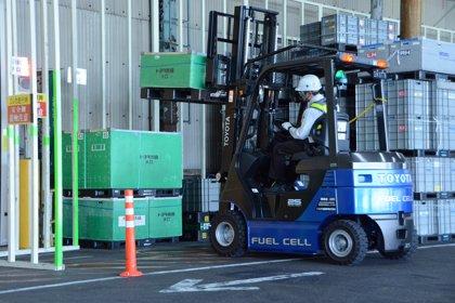 Toyota utilizará más de 170 carretillas elevadoras de hidrógeno en sus plantas de producción en 2020