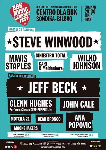 John Cale, Siniestro Total y Dead Bronco completan el BBK Music Legends Festival