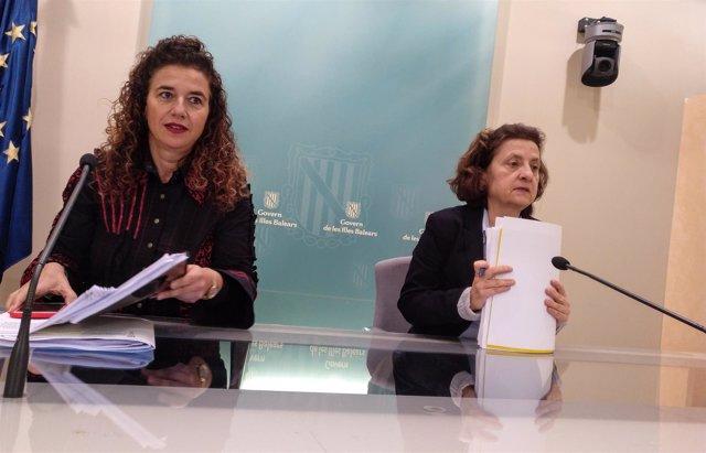 Costa Y Santiago En Rueda De Prensa Tras El Consell De Govern