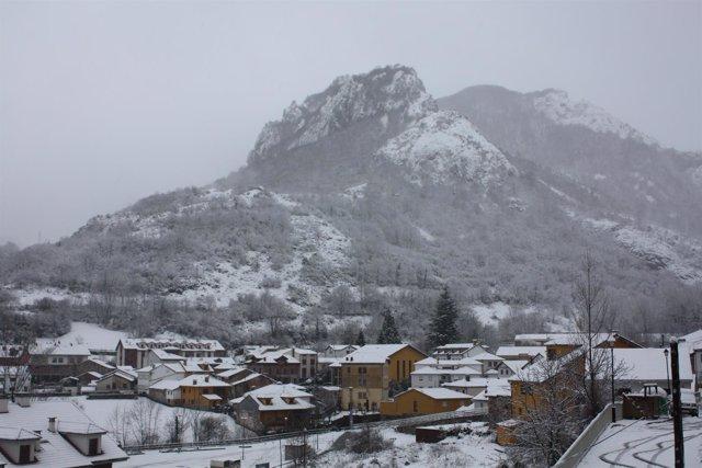 Nieve en Asturias (Somiedo)