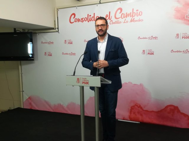 Gutiérrez en rueda de prensa