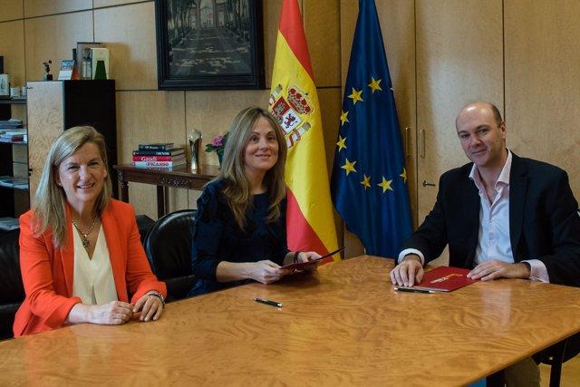 Acuerdo entre la Secretaría General del Tesoro y Alastria