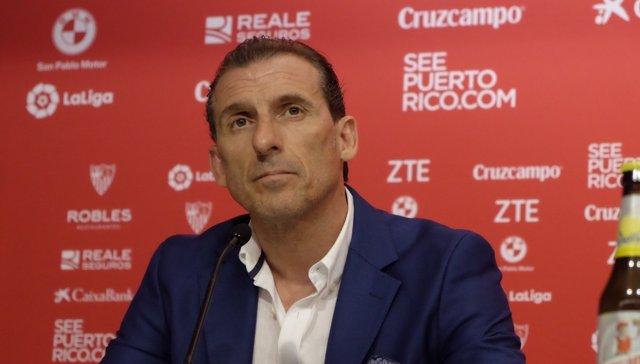 Óscar Arias, nuevo director deportivo del Sevilla