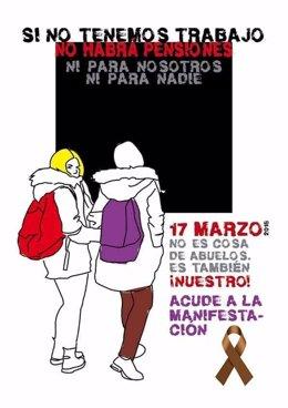 """Nota De Prensa Convocatoria Manifestación """"Coordinadora Estatal Por La Defensa D"""