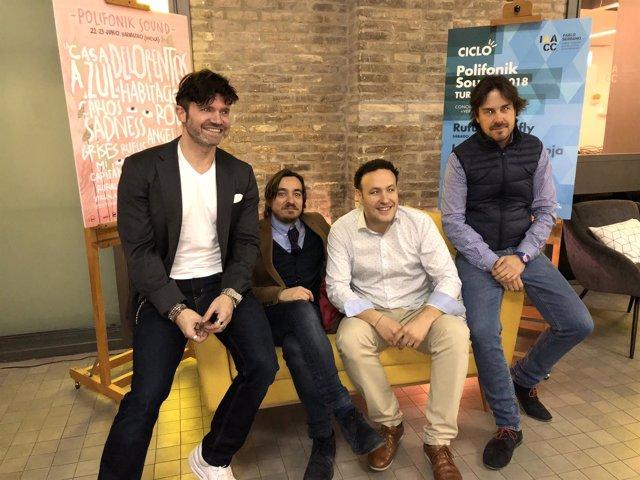 El Polifonik Sound celebrará tres conciertos-vermú en el IAACC en Zaragoza