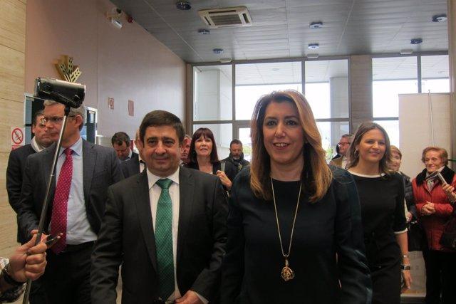 La presidenta de la Junta, Susana Díaz, en Jaén