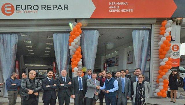 Inauguración del segundo Euro Repar Car Service en Turquía